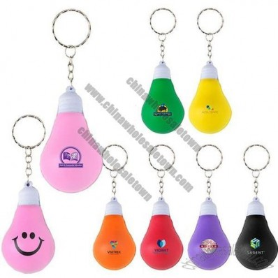 Bright Idea Stress Ball Keychain