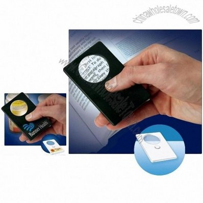 Bright Sight LED Magnifier Card