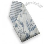 Brighton Blue Toile Quilted Placemats - Napkins