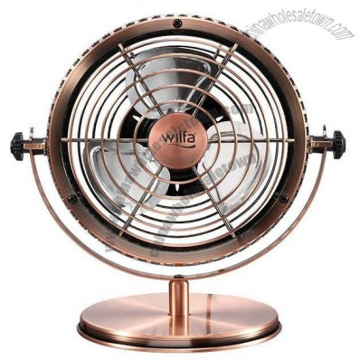 Bronze Retro Metal USB Fan