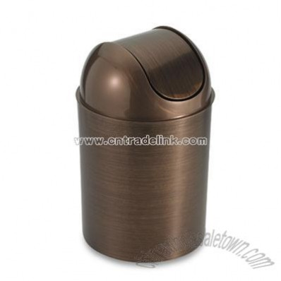 Bronze Trash Can