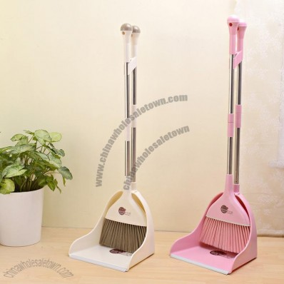 Brooms and Dustpan Set