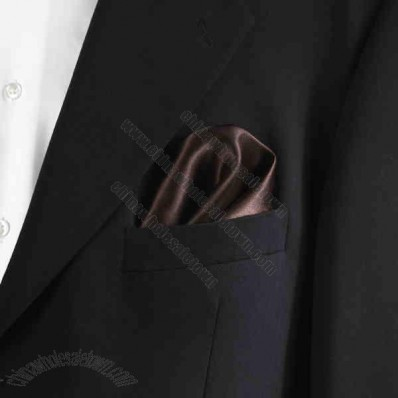 Brown Pocket Square, 10