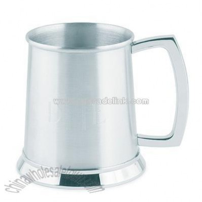 Brushed Finish Stainless Steel Tankard