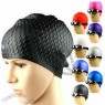 Bubble Water Drop Silicone Swimming Cap for Man and Woman