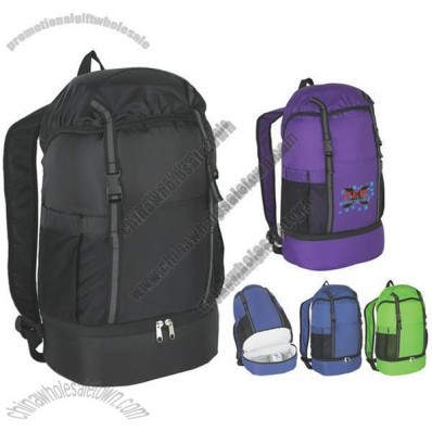 Budget Sports Backpack with Insulated Bottom