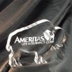Buffalo/Bull Shaped Acrylic Award