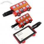 Bus Shape Luggage Tag with Identification Card