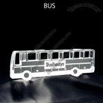 Bus Shaped Acrylic Award