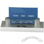 Business Card Holder LCD Clock