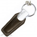 Business Metal Leather Key chain