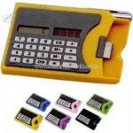 Business card holder calculator