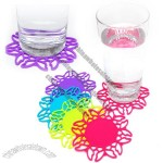 Butterfly Design Silicone Coasters