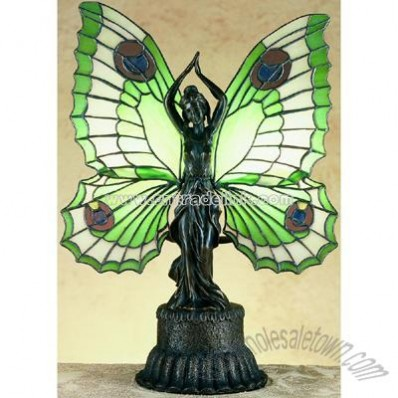 Butterfly Lady Accent Lamp