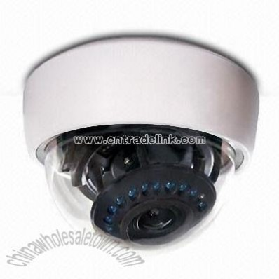 CCTV Dome Camera with 1/3-inch Sony CCD Sensor and Ultra-low Illumination