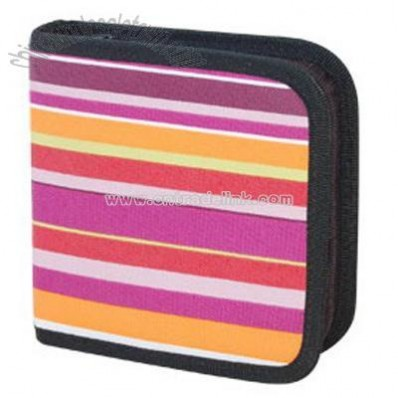 CD wallet holds 24 CDs