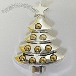 CHRISTMAS TREE PENDANT IN NOSTALGIC DESIGN