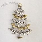 CHRISTMAS TREE PENDANT WITH CRYSTALS