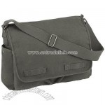 CLASSIC MESSENGER BAG Heavyweight Canvas School Laptop