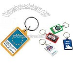 COMPACT ACRYLIC RECYCLED KEYRINGS