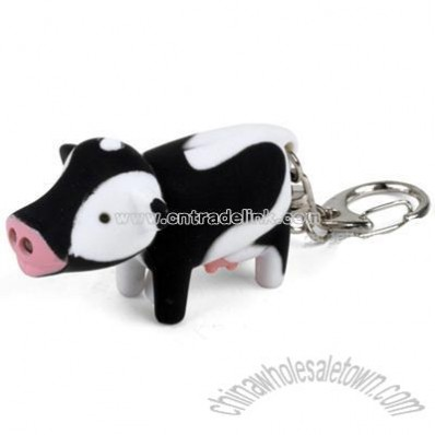 COW LED KEYCHAIN