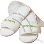 Cabana Bay - Blank - Terry Velour Slippers, Adjustable