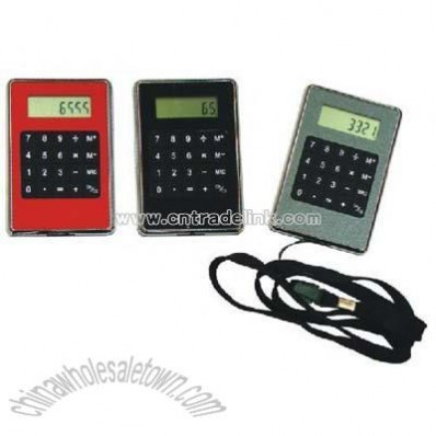 Calculator with Lanyard