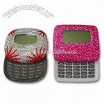 Calculator with Rhinestone Beaded