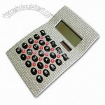 Calculator with Rhinestone Material and Solar Function