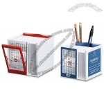 Calendar Desk Caddy With Pens And Notepads