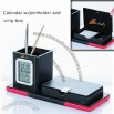 Calendar Pen Holder with Scrip Box