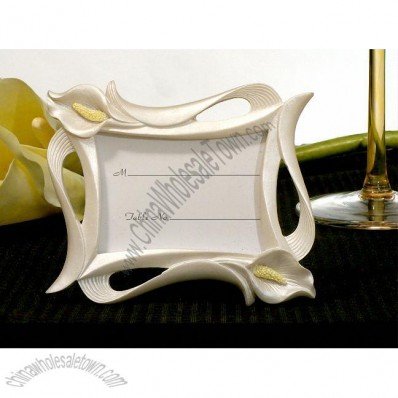 Calla Lily Photo / Place Card Frame