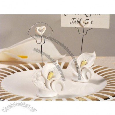 Calla Lily Place Card Holder