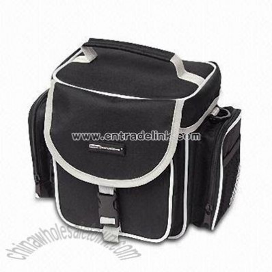 Camera Bag with Shoulder Strap and Zipper