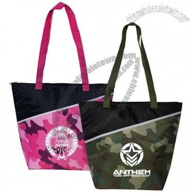 Camo Insulated Cooler Bag