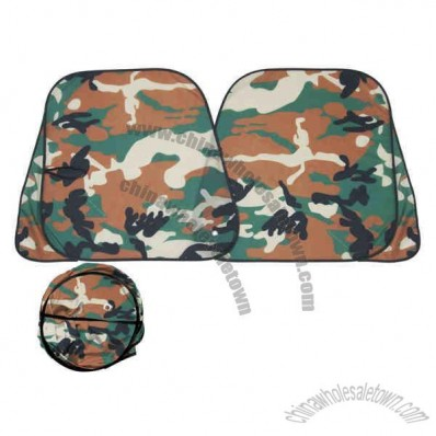Camo Xtra large sunshade for trucks and vans of size 30 x 62