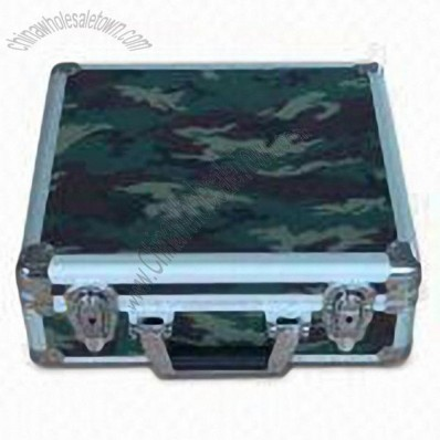 Camouflage Color Aluminum Tool Case 350x315x135mm