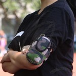 Camouflage Color Cell Phone Armband