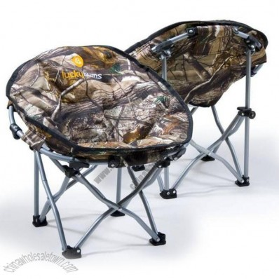 Camouflage Lucky Bums Kid's Youth Moon Camp Chair