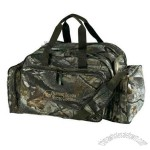 Camouflage gear bag, 600 denier polyester.