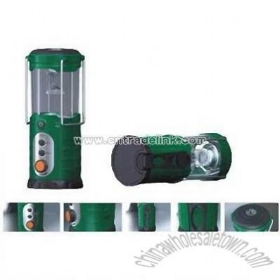 Camping Lantern with Mobile Phone Charger