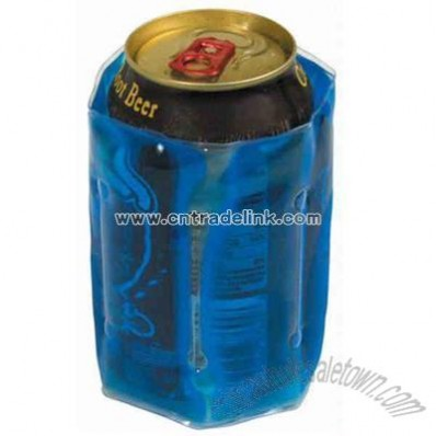 Can Cooler filled with silicone gel