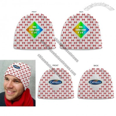 Canada Flag Sublimated Adult Beanie