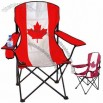 Canada Maple Leaf Flag Folding Camping Stool and Chair