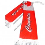 Canadian Soccer Fans Scarf