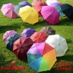 Candy Colour UV Protection Folding Umbrella