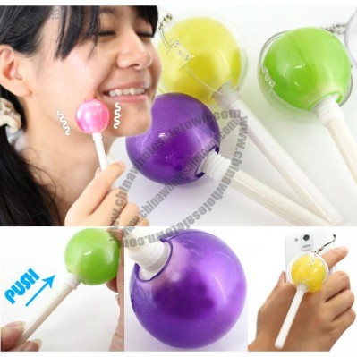 Candy Lollipop Facial Massage Vibrator