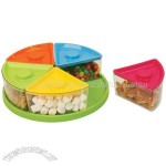 Candy Plate 5 Containers