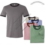 Canvas Brand Men's Short Sleeve Fashion Ringer T-shirt