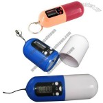 Capsule Look Digital Pill Box Timer